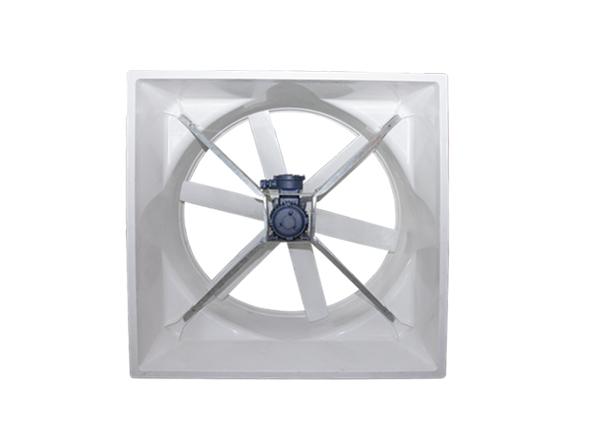 分享下玻璃钢负压风机的优点