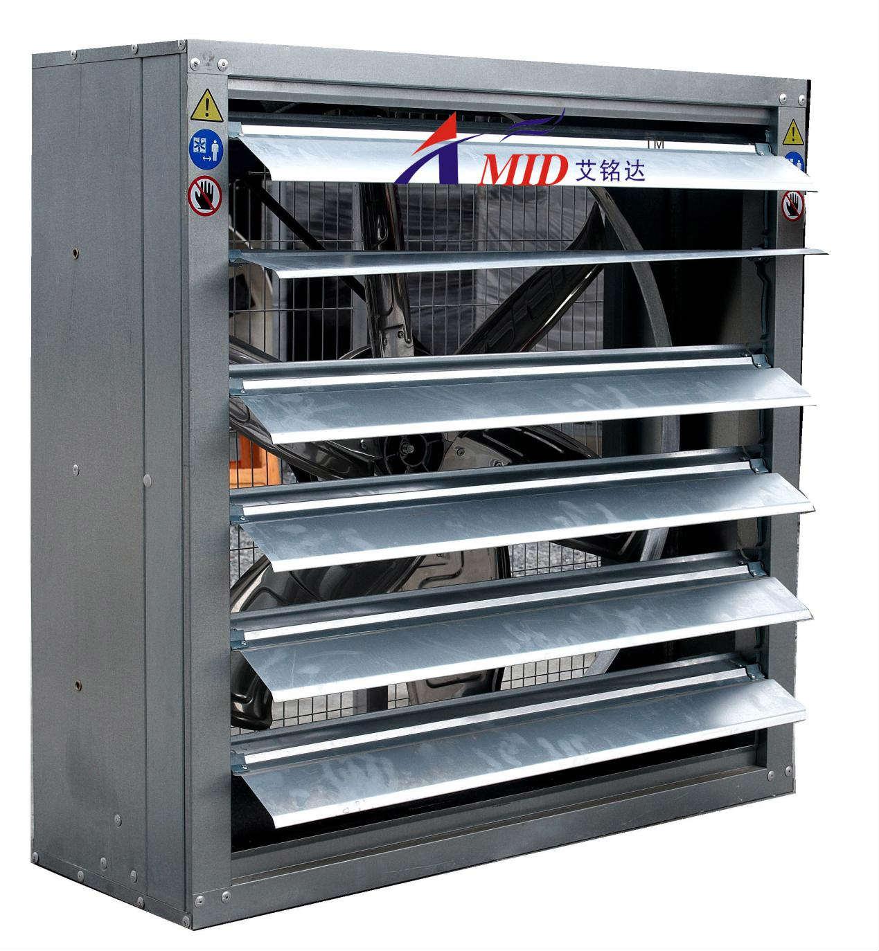 厂房降温:相似定律在风机领域的应用