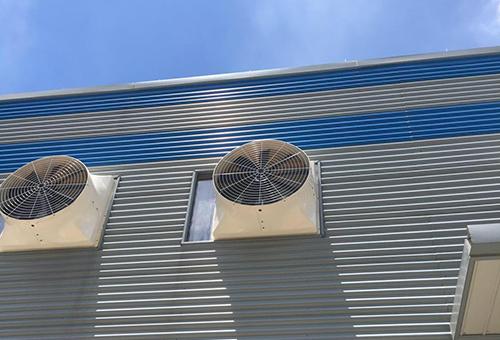 五金车间排烟风机工程